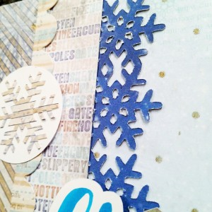 @csmscrapbooker @kellycreates #scrapbooking #bobunny #layout #winter #scanNcut