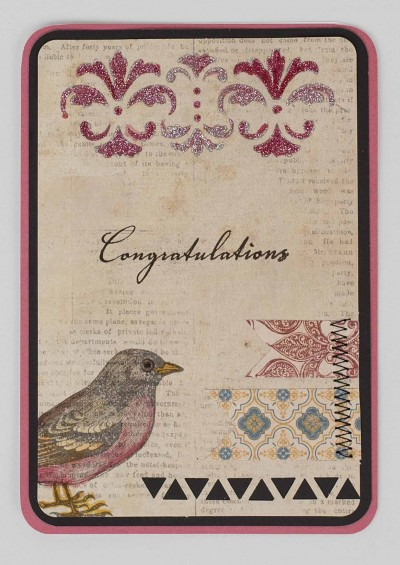 Connie Nichol - Congratulations Card