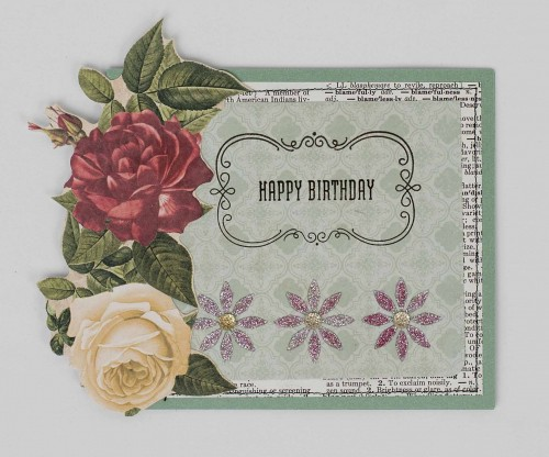 Connie Nichol - Happy Birthday Card