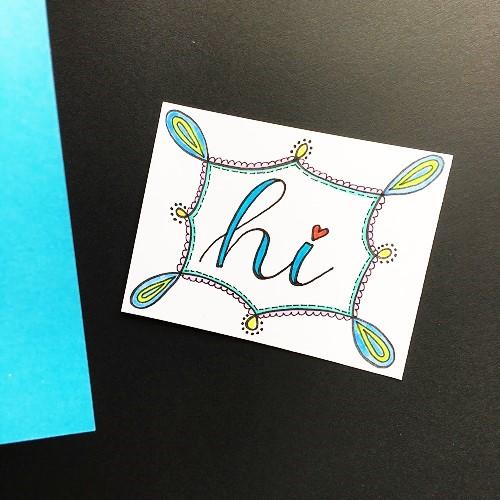 @csmscrapbooker @kellycreates @sakuraofamerica #sakura #pens #card #coloring #doodling #coredinations