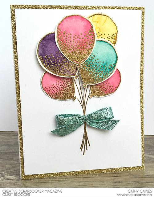 @csmscrapbooker @stampinup @cathycaines #birthday #card #stamping #stamps #stampinup #balloons