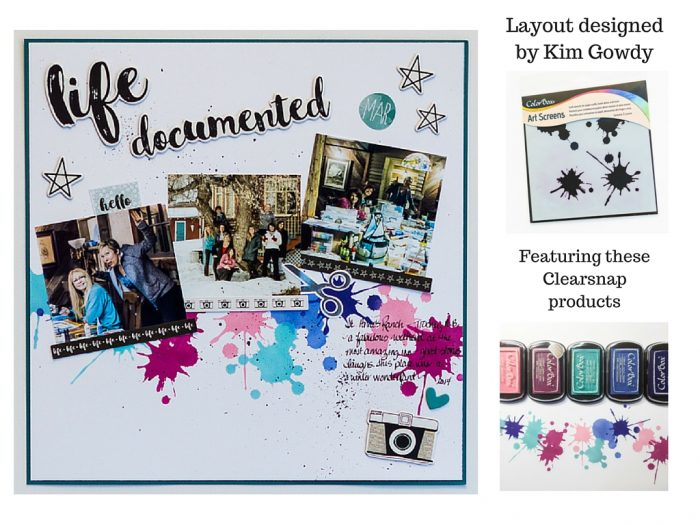 Layout designed by Kim Gowdy