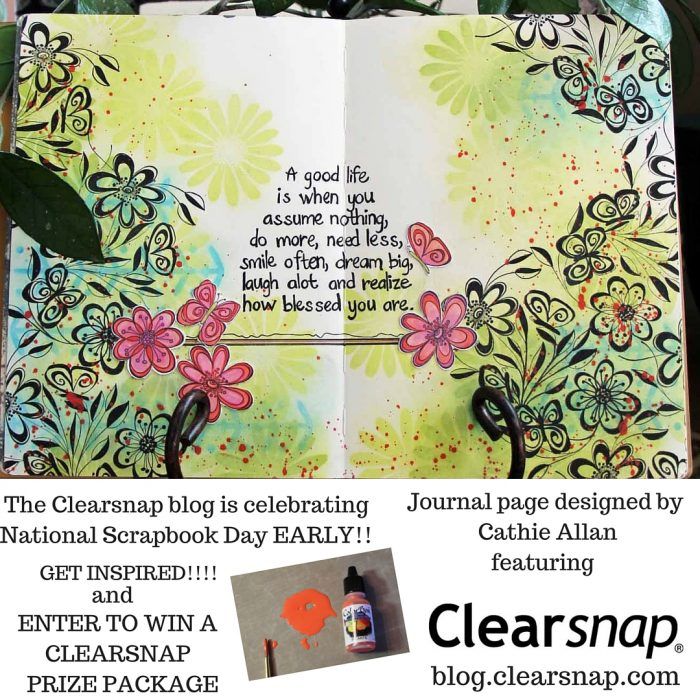 The Clearsnap blog is celebrating National Scrapbook Day EARLY! For the next two weeks (4)