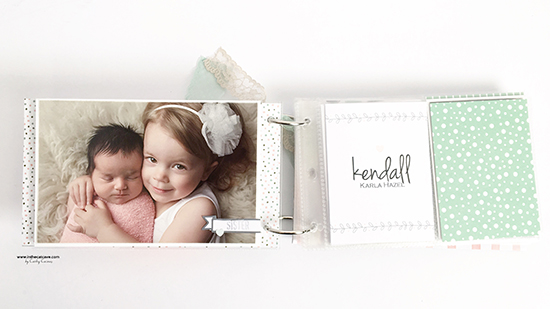 @csmscrapbooker @cathycaines @stampinup #stamping #minialbum #baby #scrapbooking