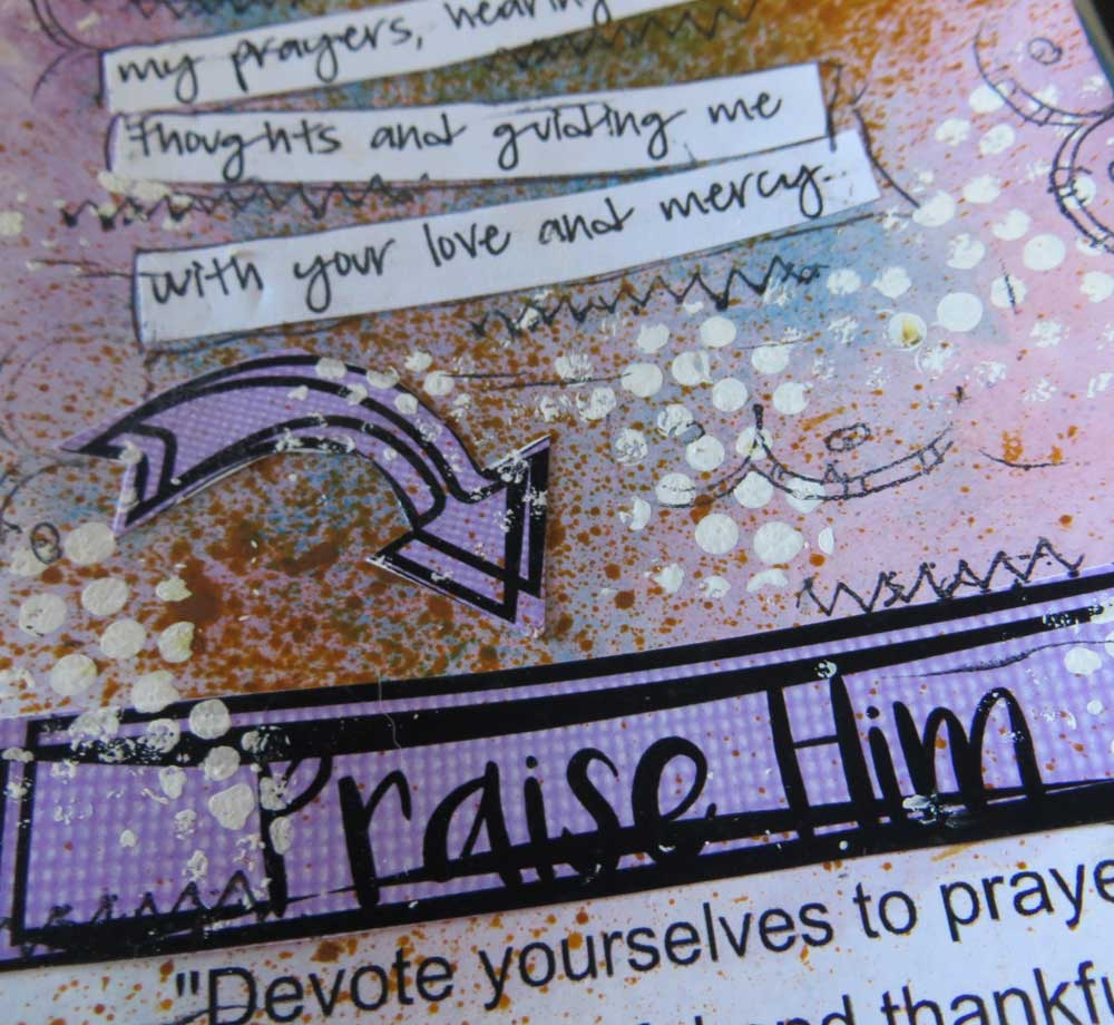 @csmscrapbooker @lynnshokoples @scrappyhappymom #bible #journaling #biblejournaling #mixedmedia #faith