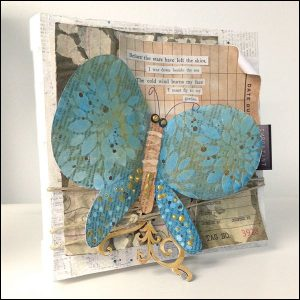 by: Catherine Scanton for Art-C Mixed Media Products @csmscrapbooker #CSMSummerSpotlight #CreativeScrapbookerMAgazine