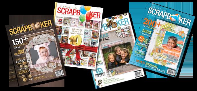 4cover_spread@csmscrapbooker #creativescrapbookermagazine #csmsummerspotlight #Westcott