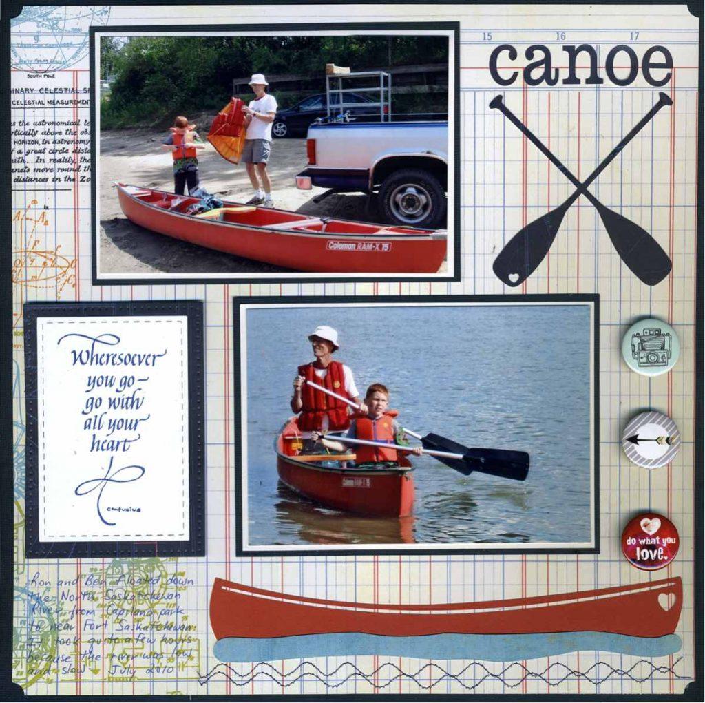canoe smaller