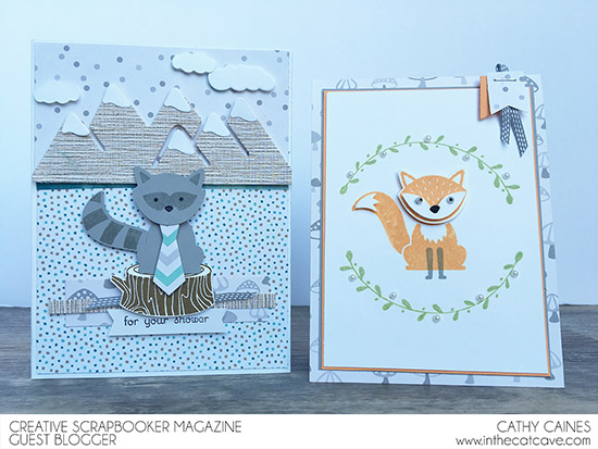 @csmscrapbooker @cathycaines @stampinup #cards #scrapbooking #fox #punch