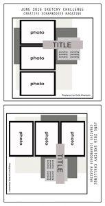 @csmscrapbooker #creativescrapbookermagazine #sketchychallenge #stampinup #ScrapbookAdhesivesby3L @kdgowdy