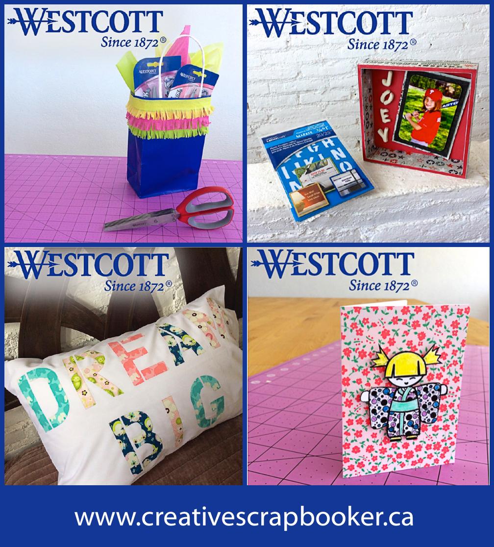 @csmscrapbooker #creativescrapbookermagazine #csmsummerspotlight #Westcott