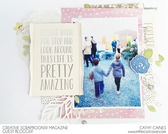 @csmscrapbooker @cathycaines @stampinup #scrapbooking #layout #stamping #stampinup