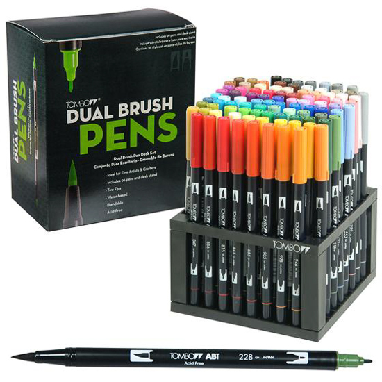 tombow-dual-brush-pen-set-96 @csmscrapbooker #tombow #adhesive #creativescrapbookermagazine