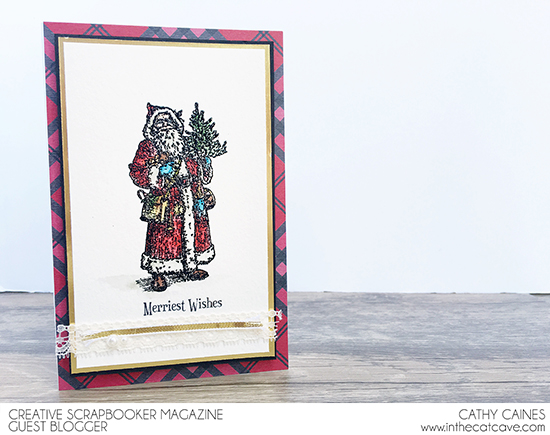 @csmscrapbooker @cathycaines @stampinup #Christmas #holiday #card #stamping #stamps