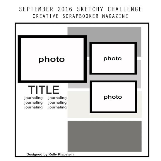 @csmscrapbooker #creativescrapbookermagazine #sketch #sketchychallenge