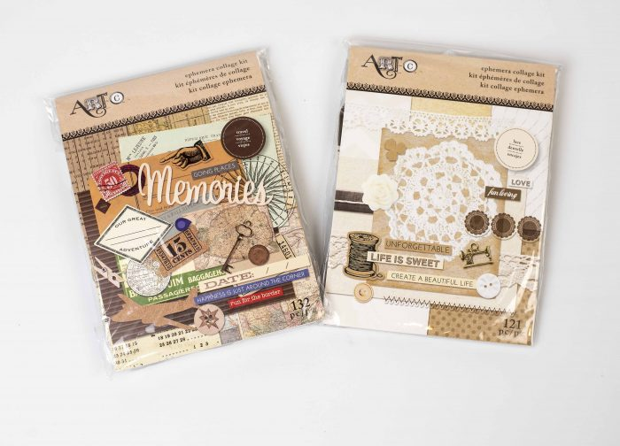 Art-C, creative scrapbooker magazine, csmscrapbooker, ephemera, ephemera collage kits, collage kits, giveaways, why not win wednesday, free stuff, free scrapbooking supplies, mixed media, scrapbooking, momenta