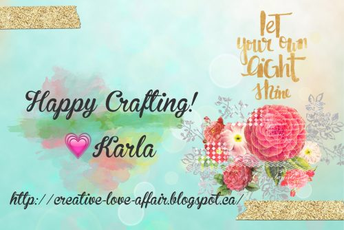 Karla Yungwirth, let your light shine, signatures, happy crafting, creative love affair, creative scrapbooker magazine, csmscrapbooker