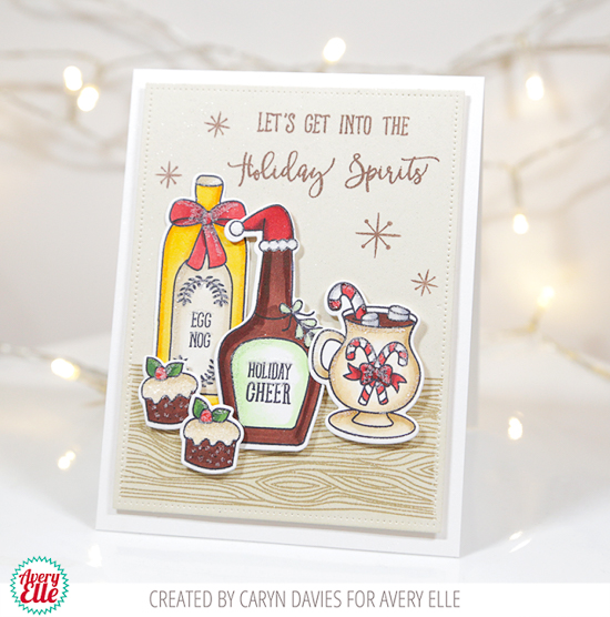 holiday-spirits averyellelogocmyk @csmscrapbooker #creativescrapbookermagazine #scrapbookingandcards #scrapbooking #cards #scrapbookandcards #creativelife