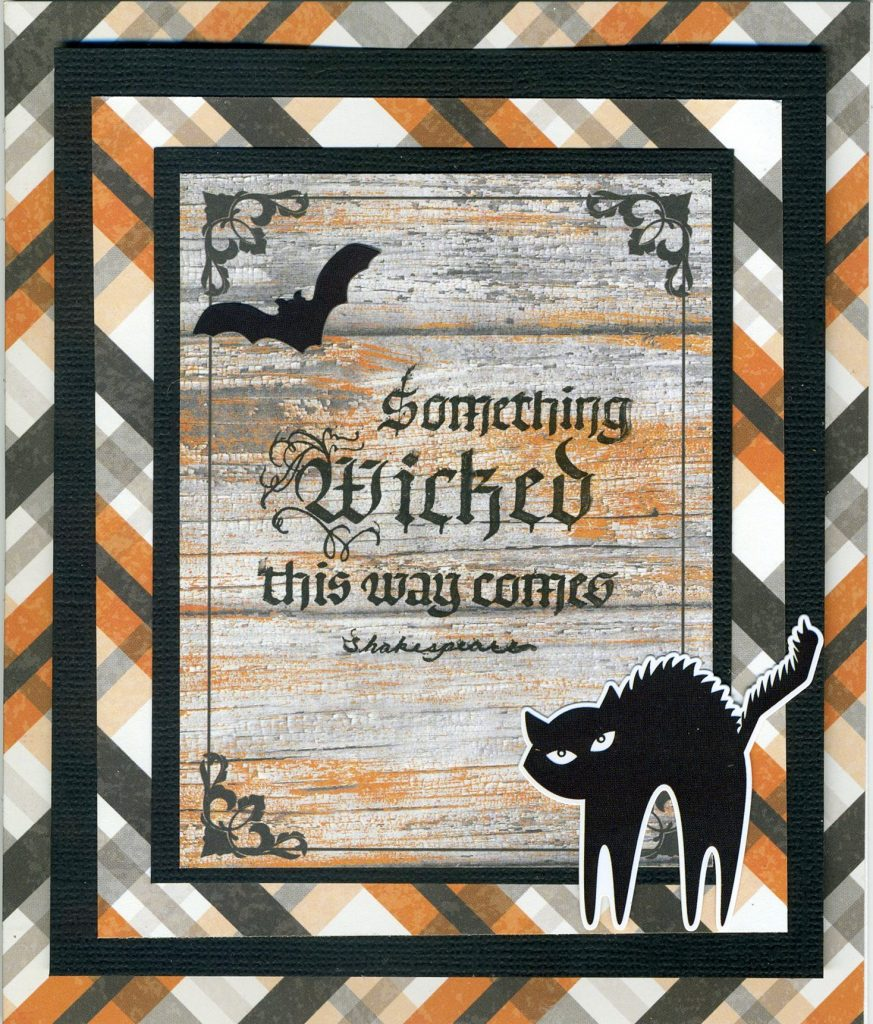 Connie Nichol, @simplestories, @quietfiredesign @sakura @scrapbookadhesivesby3l @csmscrapbooker @connienichol Simple Stories, Sakura, card making, cards, halloween, halloween cards, halloween patterned paper, bats, cats, wicked, diy cards, diy halloween, happy haunting, Simple Stories happy haunting