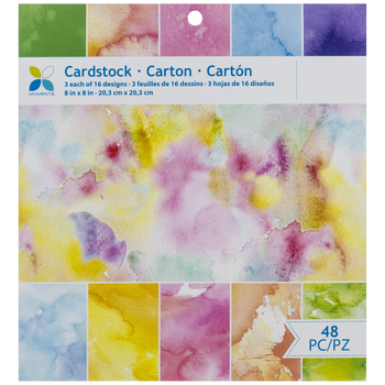 momenta, momenta cardstock, creative scrapbooker magazine, csmscrapbooker, scrapbooking, paper packs, watercolour, watercolor