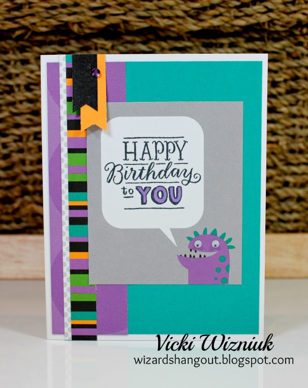 Vicki Wizniuk, cards, card making, stamping, Close To My Heart, Creative Scrapbooker Magazine, birthday, birthday cards, scrapbooking