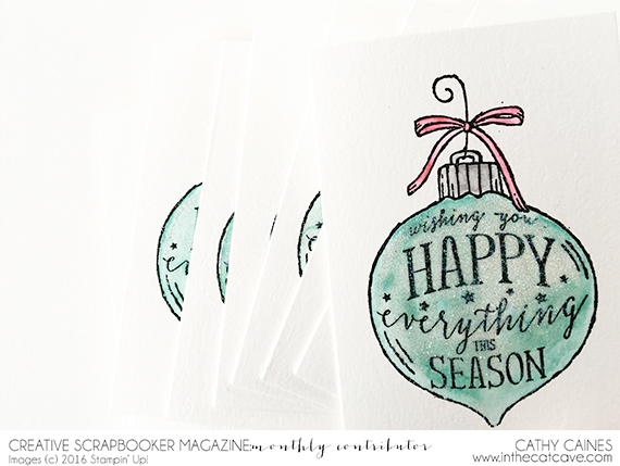 @csmscrapbooker @cathycaines #scrapbooking #stamping @stampinup #stamping #christmas #card