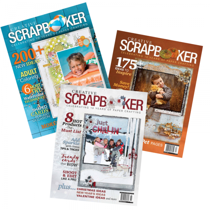 Creative Scrapbooker Magazine, csmscrapbooker, scrapbooking magazine, scrapbooking, papercrafts, stamping, home deore, subscription