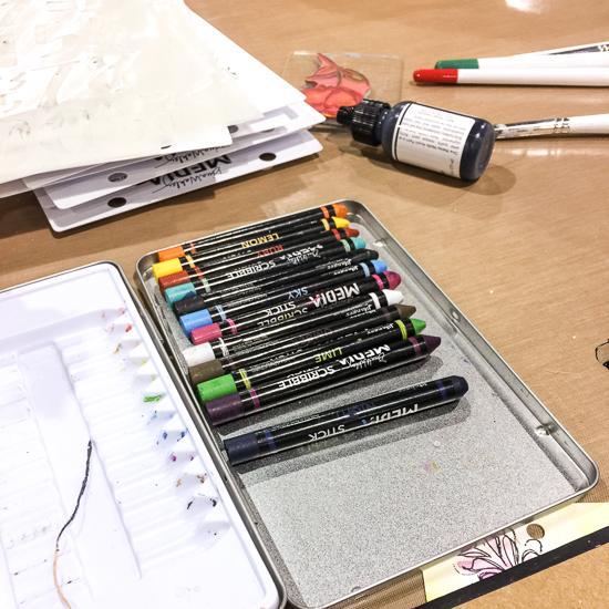 @csmscrapbooker #csmscrapbooker @ranger #cha2017 #creativation #cha #phoenix #newreleases #mixedmedia #designer