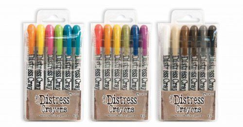 #ranger #distresscrayons #creativescrapbookermagazine #csmscrapbooker #oilpastel #colouring #timholtz #coloring #mixedmedia
