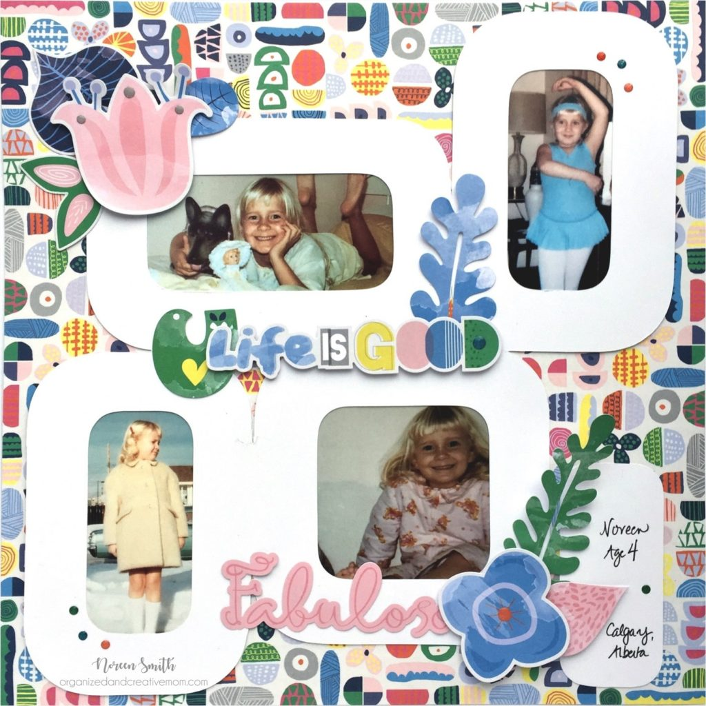 NoreenSmith, Creative Memories, Sorbet Collection, Rectangular Templates