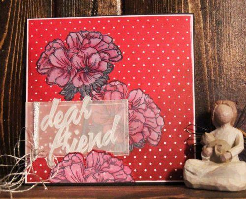 @csmscrapbooker @cathieallan @clearsnap @iostamps #csmscrapbooker #creativescrapbookermagazine #cards #impressionobsession #cathieallan #cardmaking #flowerstamps #stampingonvellum