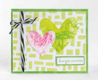 @connienichol @csmscrapbooker #creativescrapbookermagazine #csmscrapbooker #closetomyheart #ranger #dylusionsstencils #closetomyheart #texturepaste #saranpaper #closetomyheartthinlits #cardmaking #generalcards #creativescrapbookermagazine