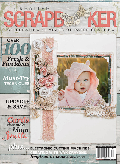 #creativescrapbookermagazine #csmscrapbooker #sketch #scrapbooking #sketchygallery #spring #paperissue #subscription #quarterly