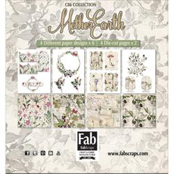 @fabscraps @csmscrapbooker #csmscrapbooker #fabscraps #motherearthcollection #earthinspiredscrapbookingsupplies