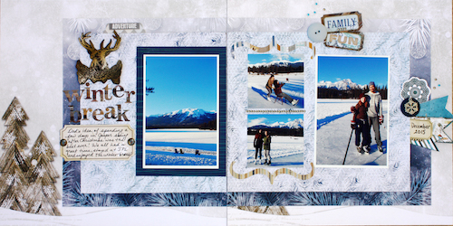 Double The Fun 2016 Winter Layout