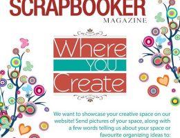 @csmscrapbooker #creativespace #whereyoucreate