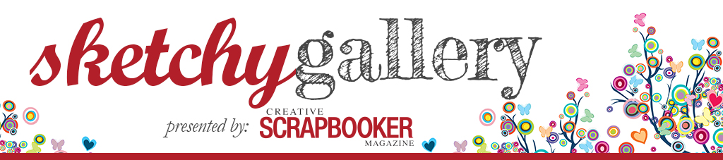 Creative Scrapbooker Magazine Sketchy Gallery logo
