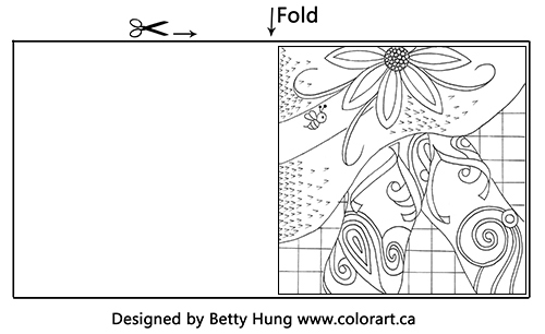 @csmscrapbooker @bhung613 @colorartbybetter #csmscrapbooker #bettyhung #creativescrapbookermagazine #freecolouringcard #freecolouringproject #summercolouring #adultcoloring #colouringillustrations #illustrationstocolourforfree