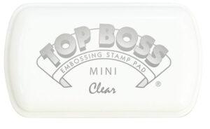 @csmscrapbooker @clearsnap #creativescrapbookermagazine #clearsnap #topboss #embossingink #embossingstamppad
