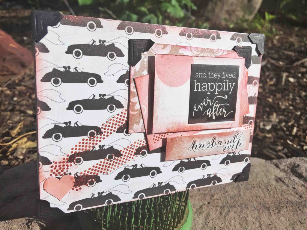 @csmscrapbooker @echopark @engelbelle @clearsnap @sbadhesives3l #creativescrapbookermagazine #csmscrapbooker #echopark #kerryengel #clearsnp #scrapbookadhesivesby3l #cards #cardmaking #weddingcards #happilyeveraftercollection #weddingthemedpatternedpaper #dodz #photocorners