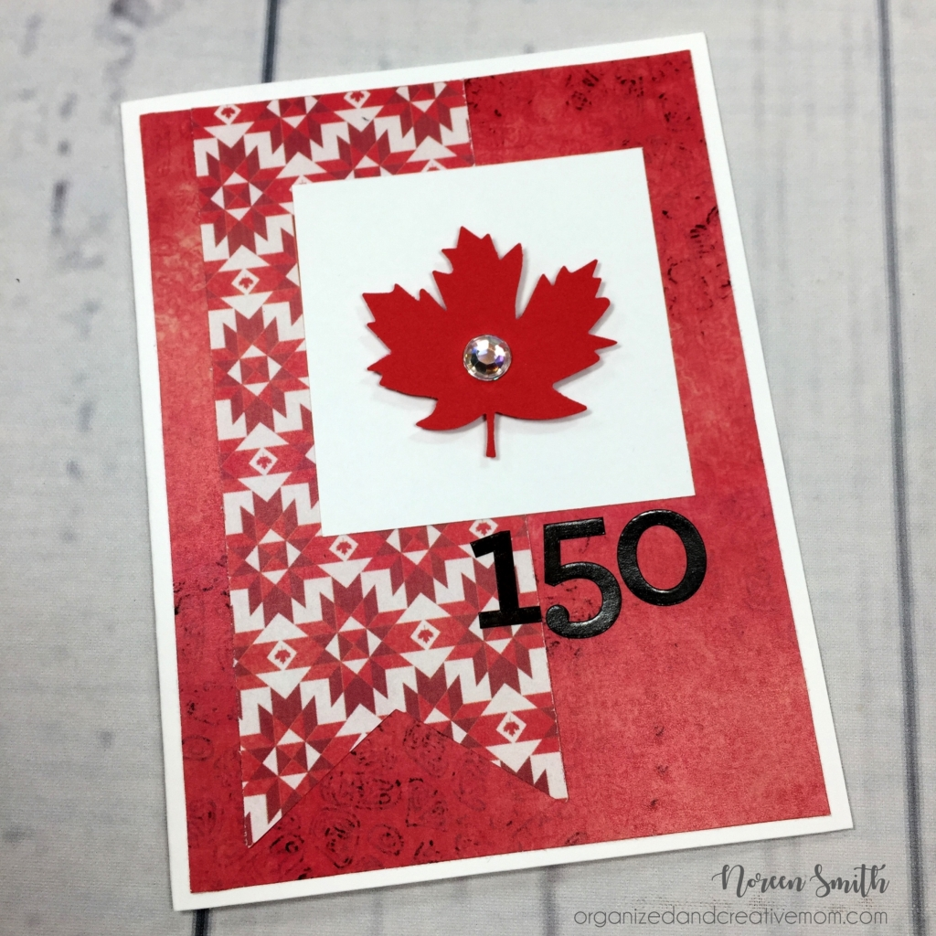 @csmscrapbooker @noreenhsmith @cmgroup #creativescrapbookermagazine #csmscrapbooker #noreensmith #creativememories #cardmkaing #cards #basicardmaking #celebratecanadapaperpack #maplefeafpunch #canada150 #birthdaycard #july1 #canadabirthday #canadaaniversary #bannersoncards #creativememoriesdigital
