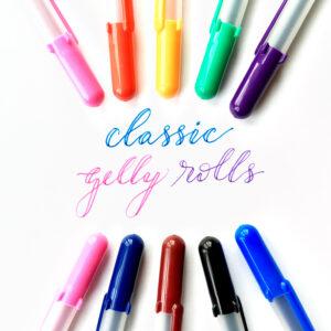 @csmscrapbooker @sakura #creativescrapbookermagazine #csmscrapbooker #gellyrolls #classicgellyrolls #scrapbookingtools #handletteringtools #adultcolouring