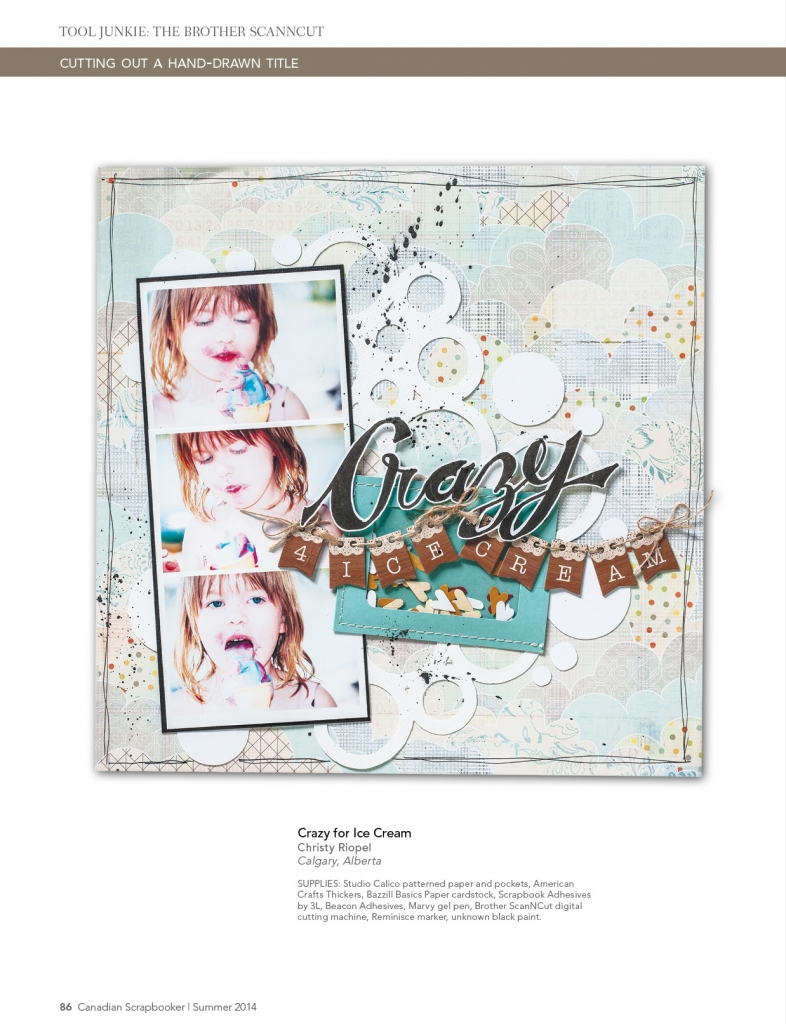 @csmscrapbooker @christyriopel @brothercanada @americancrafts @studiocalico @sbadhesives3l #csmscrapbooker #creativescrapbookermagazine #scrapbooking #scrapbookinglayouts #brotherscanncut #scanncut #studiocalico #americancrafts #marvygelpen #howtoscanncut #bubblecutfiles #icecreamlayouts #crazyforicecream #scanncuttutorial #bannersonlayouts #splashingwithblack