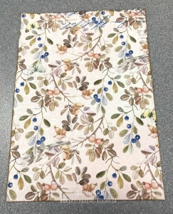 Piece of floral patterned paper from the Serendipity collection by BoBunny to create a card.