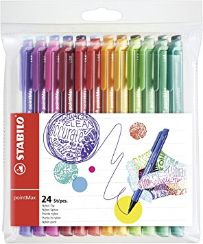 Stabilo pointmax pen set