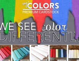 my Colors Cardstock logo