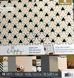Paper House Products collection of patterned paper called Be Happy