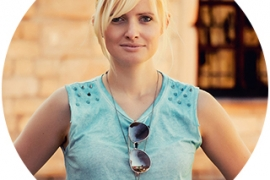 Head shot of Spellbinders design team member Yana Smakula