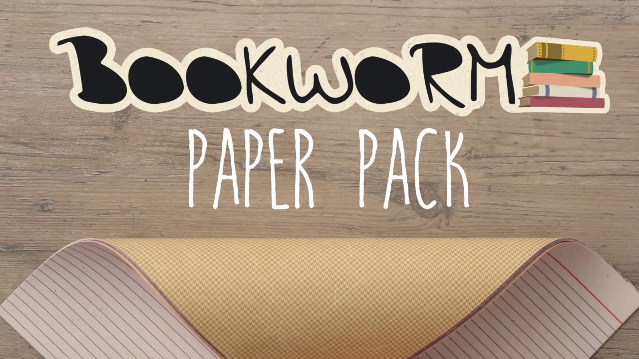 Bookworm paper pack logo from Creative Memories