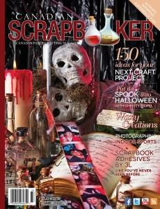 Fall 2013 Creative Scrapbooker Magazine Cover